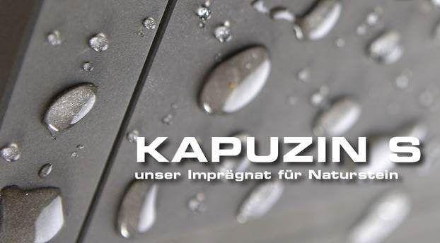 Naturstein-Imprägnierung mit Kapuzin S