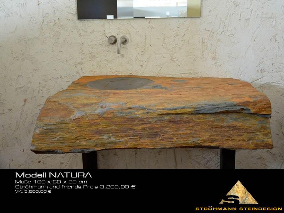 Naturstein Waschtisch Natura